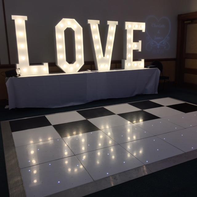 Light Warehouse Birmingham: Love Letter Hire In Birmingham, LED Light Up Love Sign