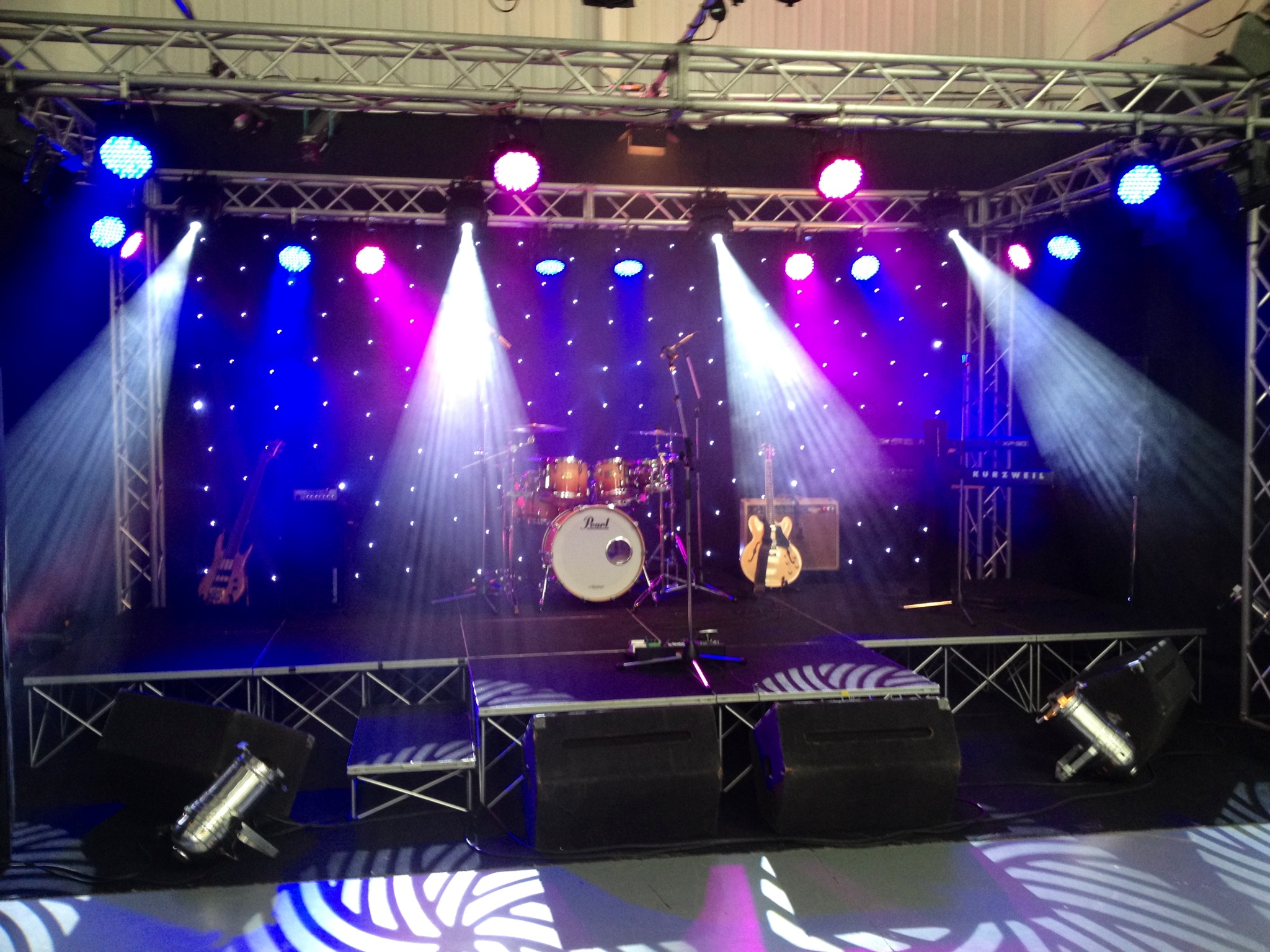Lighting Hire Birmingham Stage And Lighting Hire For