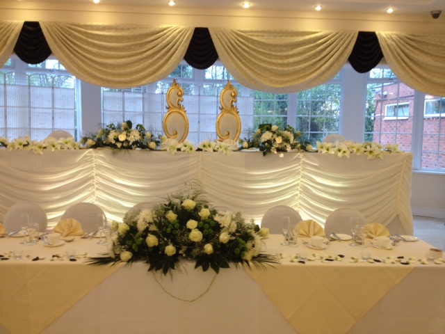 Wedding Lighting At The Ramada Park Hall Hotel In
