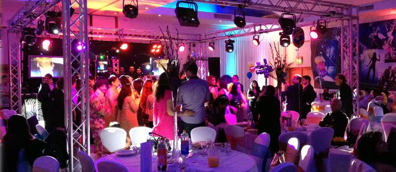 Dancefloor lighting cube, wedding lighting birmingham